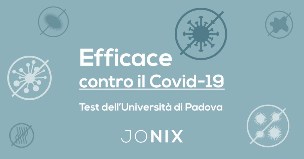 Jonix, efficace contro il Covid-19